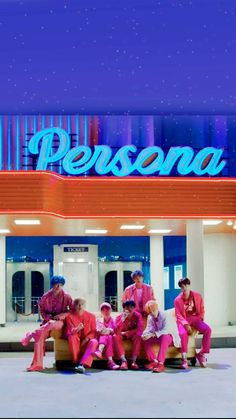 BTS map of soul persona Boy with love