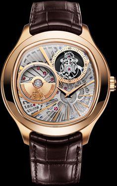 Pink gold Ultra-thin tourbillon Watch - Piaget Luxury Watch G0A36041