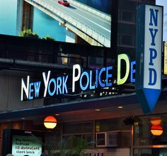 Time Square Police Department 8/2015