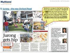 Jurong to be the new Orchard Road - Lake Grande  http://www.lakegrandejurong.com.sg/
