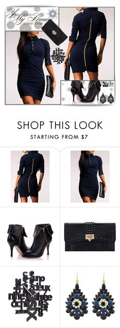 """SheIn IX/5."" by lina-bovary ❤ liked on Polyvore featuring Komar and Umbra"