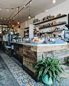 Coffee shop interior decor ideas 47