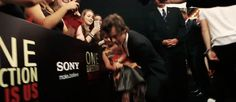 Replace the little girl with Ellen and you'll have the newlywed Harry Styles sweeping his new Mrs. Styles off her feet on their wedding day. All you Pinterest people are invited to the wedding in 5 years. {GIF} -H