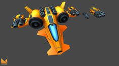 Galaxy Craft Unity Asset Packs on Behance
