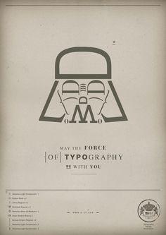 Darth Type Poster
