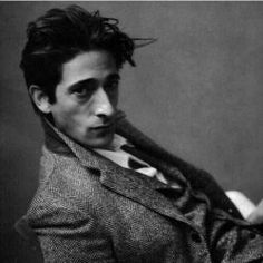 Adrian Brody.  I loved him in The Pianist, and as Salvador Dali, in Midnight in Paris.  This photo was taken by his mother, professional photographer, Sylvia Plachy.
