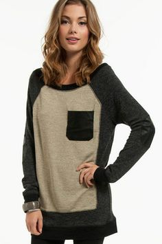 *Patchwork Sweater $68  http://www.tobi.com/product/46901-tobi-patchwork-sweater?color_id=61074