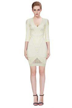 Whole Herve Leger Long Sleeve Bandage Dresses Online From China