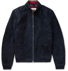 Gucci - Suede Harrington Jacket