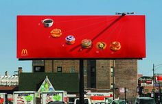 McDonald's Brilliant Sundial Billboard