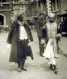 Photograph of an unidentified Burmese representative at the June 1911 coronation of King George V and Queen Mary in London.