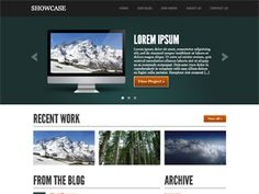 Showcase is a theme designed and built to make building a portfolio easy for graphic designers, web developers, and others with commercial or artistic work to display.