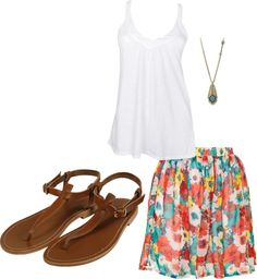 Summer, created by ryannnicole on Polyvore