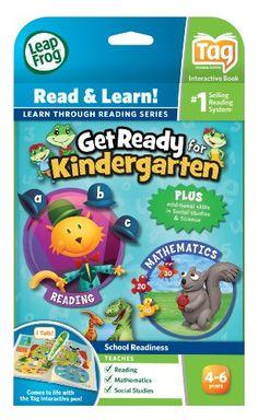 LeapFrog Tag Get Ready for Kindergarten $13.97 #topseller