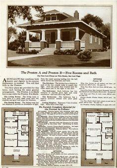images about Arts  amp  Crafts House Plans   Gordon Van Tine on    Same floorplan  different roofing  Gordon Van Tine kit home
