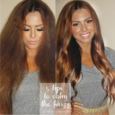 From frizz to fab. Tips for silky smooth hair every day! Kissablecomplexions.com