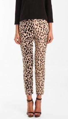 leopard pants # fashion