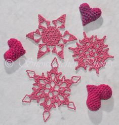 #_Baby Snowflakes free pattern.