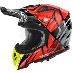 2016 Airoh Aviator 2.2 Helmet Styling Orange Gloss