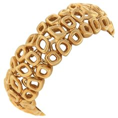 GOLD JEWELRY TIFFANY | PALOMA PICASSO for TIFFANY and Co. Gold Bracelet at 1stdibs