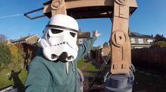 How to Build a HUGE Star Wars AT-AT