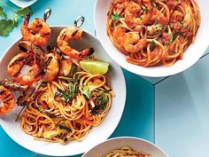 Harissa Shrimp Fra Diavolo