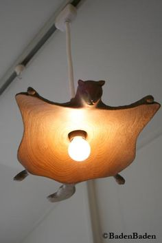 flying squirrel lamp!