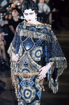 John Galliano for Christian Dior - HC - SS1998 - Tribute to Marchesa Luisa Casati | The House of Beccaria