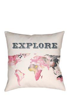 Explore {Travel} Pillow
