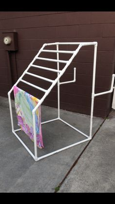 PVC towel/float rack.  LIke this one even better