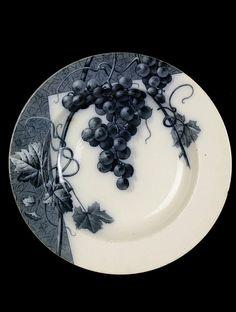 Plate | Brown-Westhead, Moore & Co. mid 19th century, Hanley, England