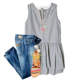 Popular Summer Polyvore Outfits Ideas 21