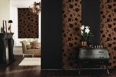 Beautiful and artistic room dividers done by Budget blinds. Artistic Room, Panel Blinds, Budget Blinds, Roller Shades, Window Coverings, Shutters, Future House, Windows, Curtains