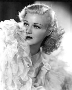 Ginger Rogers. She was absolutely beautiful.