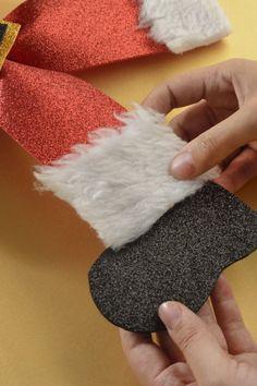 Cómo hacer un Moño de Santa