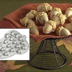 """Acorn Pan"" eclectic cookware and bakeware by Kitchen Krafts"