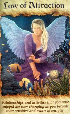 DesertStar Card of the Day Angel Therapy Oracle Cards ::Law of Attraction:: {Relationships and activities that you once enjoyed are now changing as you become more sensitive and more aware of energ… Goddess Quotes, Novena Prayers, Angel Guidance, Oracle Tarot, Doreen Virtue, Angel Pictures, Angel Cards, Peaceful Life, Faith Prayer
