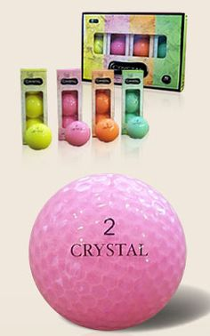 Obtain the longest and straightest flight distance without sacrificing true 70 compression or a soft feeling. They each work together to make the Crystal golf ball the most comfortable ball in the market. #golf #golfballs #lorisgolfshoppe