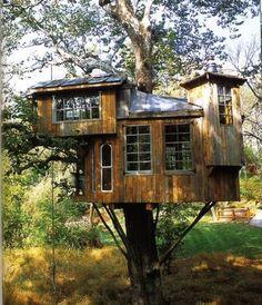 Awesome tree house.