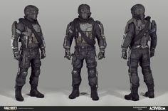 Here's some of the work I did on Advanced Warfare, I am very lucky to have worked with such a talented team.