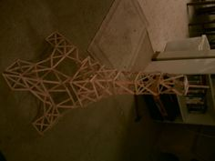 popsicle+stick+crafts | Popcicle Stick Eiffel Tower; crafts, Eiffel tower, popsicle sticks