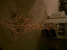 popsicle+stick+crafts   Popcicle Stick Eiffel Tower; crafts, Eiffel tower, popsicle sticks
