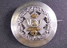 The Highland Light Infantry Officers plaid brooch 1881 - 1901 pattern, £575