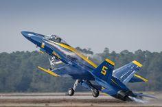 F-18C Hornet No. 5, Blue Angels