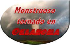 Un fenómeno que se reitera año tras otro, y que no se observa un plan para minimizar los daños, va a tener un resultado de grave a peor siempre... ¿Por qué no prevenir cambiando? Monstruoso tornado en Oklahoma