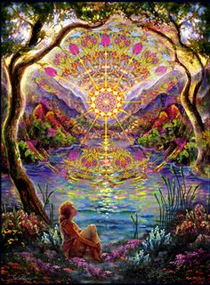 Mandala - Dawn's Delight by Willow Arleana