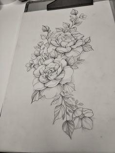 Awesome Tattoos, Love Tattoos, Body Art Tattoos, I Tattoo, Butterfly Tattoo Designs, Desenho Tattoo, Peony Flower, Piercings, Dragon