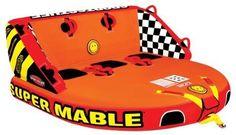 SportsStuff Towable Water Sports Towable Tube Floating Lounge Super Mable New #SportsStuff