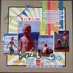 Skrapaddict's Gallery: Beach Boy