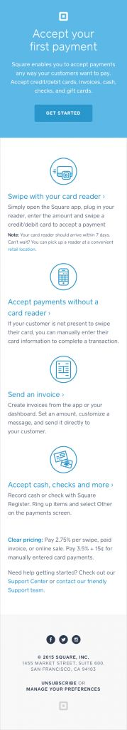 Onboarding  Accepting Your First Payment